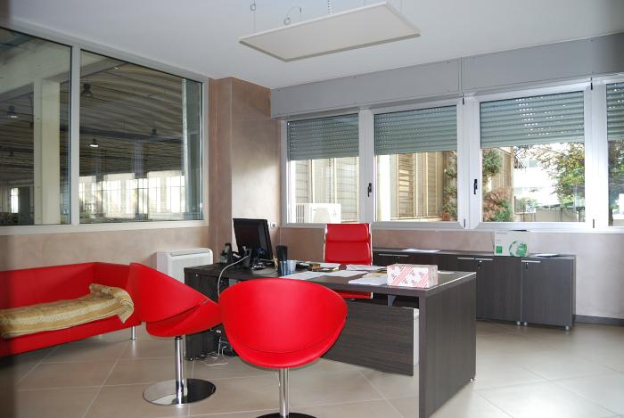 Contract integrato progettazione e arredo ufficio for Arredo ufficio tecnico
